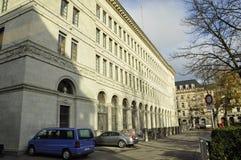 Швейцария: Швейцарский национальный банк в городе богачей ¼ ZÃ стоковое изображение rf