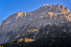 Швейцария, Eiger Стоковое фото RF