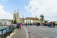 Швейцария zurich Стоковая Фотография RF