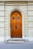 Швейцарская дверь стоковое фото rf