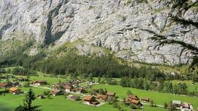 швейцарская долина Стоковые Изображения