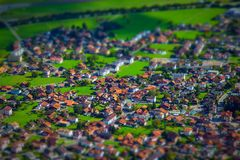 Швейцарская страна Стоковое фото RF