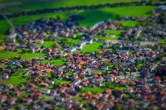Швейцарская страна Стоковые Фотографии RF