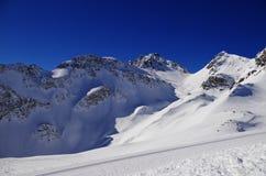Швейцарские горы Стоковое фото RF