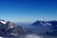 Швейцарские горы Стоковое Фото