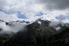 Швейцарские горы Стоковое Изображение RF