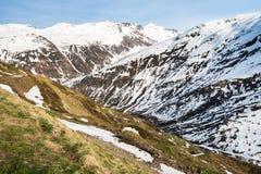 Швейцарские горы Стоковая Фотография