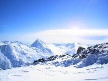 Швейцарские горы Стоковые Изображения RF