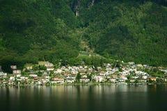 Швейцарский ландшафт Стоковые Фотографии RF