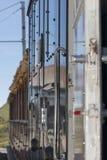 Швейцарский поезд горы Стоковая Фотография