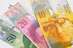 Швейцарский франк Стоковое Фото