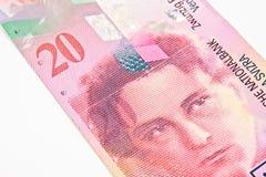 Швейцарский франк Стоковые Фото