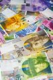 Швейцарский франк стоковое изображение rf