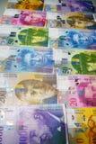 Швейцарский франк стоковые изображения