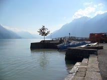 Швейцарское озеро Стоковая Фотография RF