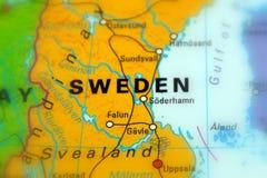 Швеция, официально королевство Швеции Стоковые Фотографии RF