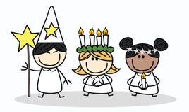 Шведская традиция рождества Стоковые Изображения