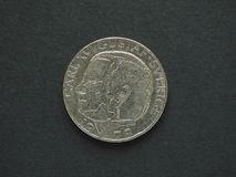 1 шведские кроны & x28; SEK& x29; монетка Стоковое фото RF