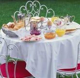 шведский стол завтрака-обеда Стоковые Изображения RF