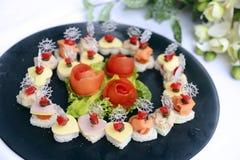 Шведский стол десертов Стоковые Изображения