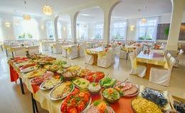Шведский стол еды Стоковые Фото
