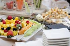 Шведский стол еды Стоковое Изображение