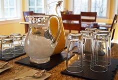 Шведский стол завтрак-обеда воскресенья Стоковые Фото