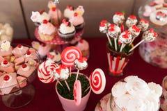 Шведский стол конфеты Стоковые Фото