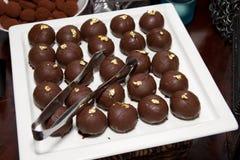 Шведский стол помадок трюфеля десерта Confection сахара Стоковые Фото