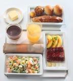 Шведский стол подноса еды Стоковое Фото