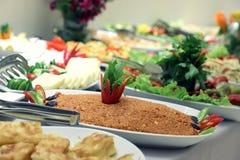 Шведский стол салата Стоковые Фото