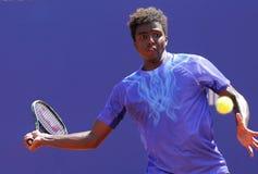 Шведский теннисист Илья Ymer Стоковое Изображение