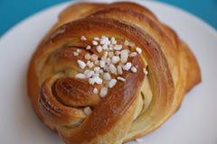 Шведский хлеб с сахаром Стоковое Изображение