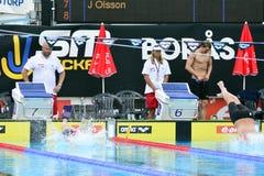 Шведский чемпионат в заплывании Стоковое фото RF