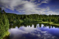 Шведское озеро Стоковое Фото