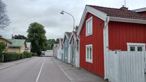 Шведское hause Стоковые Фотографии RF