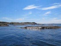 Шведское summerday westcoast одного красивое Стоковое фото RF