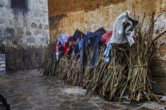 Швырок в деревне Hani Стоковое фото RF