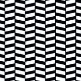 Шевронная сплетенная безшовная иллюстрация вектора картины образца иллюстрация штока