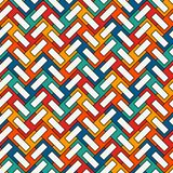 Шевронные обои Абстрактная предпосылка партера Безшовная поверхностная картина с повторенными прямоугольными плитками бесплатная иллюстрация
