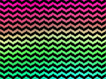 Шевроны Ombre волнистые на черной предпосылке Стоковое фото RF