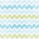 Шеврон текстурированный тканью stripes безшовная предпосылка картины Стоковые Фото