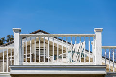Шезлонг и балкон краска Стоковые Фото
