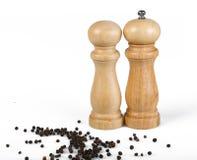 Шейкеры соли и перца Стоковая Фотография RF