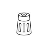 Шейкер соли или перца Стоковое фото RF