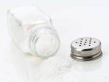 Шейкер соли из изолированного стекла, Стоковое Изображение