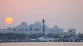 Шейх Дворец в Абу-Даби видеоматериал