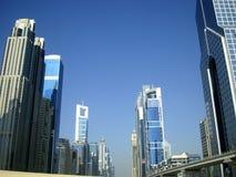 шейх дороги Дубай zayed стоковые фотографии rf