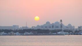 Шейх Khalifa Дворец в Абу-Даби акции видеоматериалы