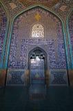Шейх Lutfollah Мечеть в Isfahan, Иране Стоковая Фотография